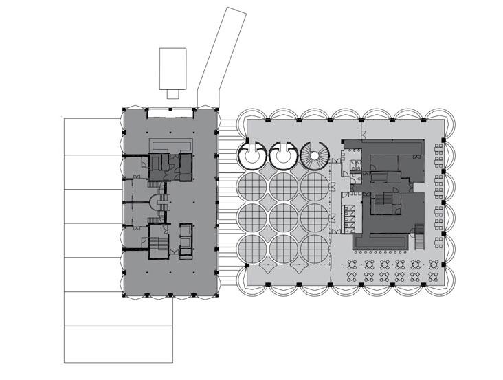 پلان طبقه هفتم