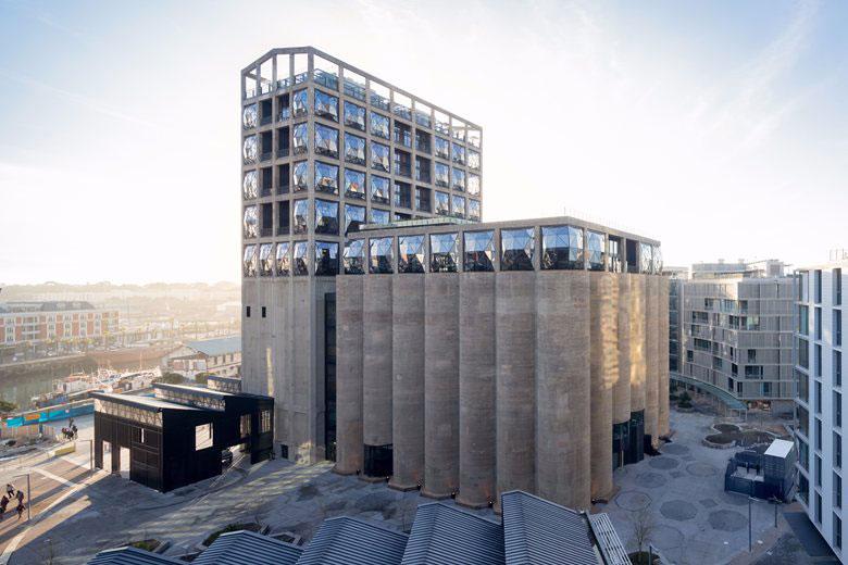 معماری موزه هنرهای معاصر آفریقا