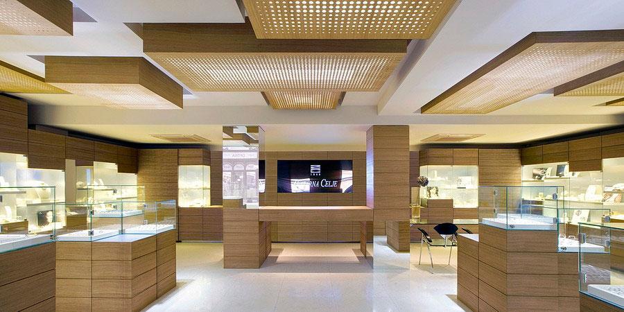 طراحی داخلی طلافروشی