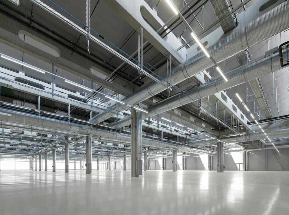 معماری داخلی کارخانه