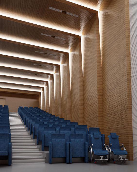 25 ایده طراحی داخلی سالن کنفرانس و اجتماعات