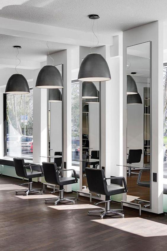 25 - Interior hair salon lighting ideas ...
