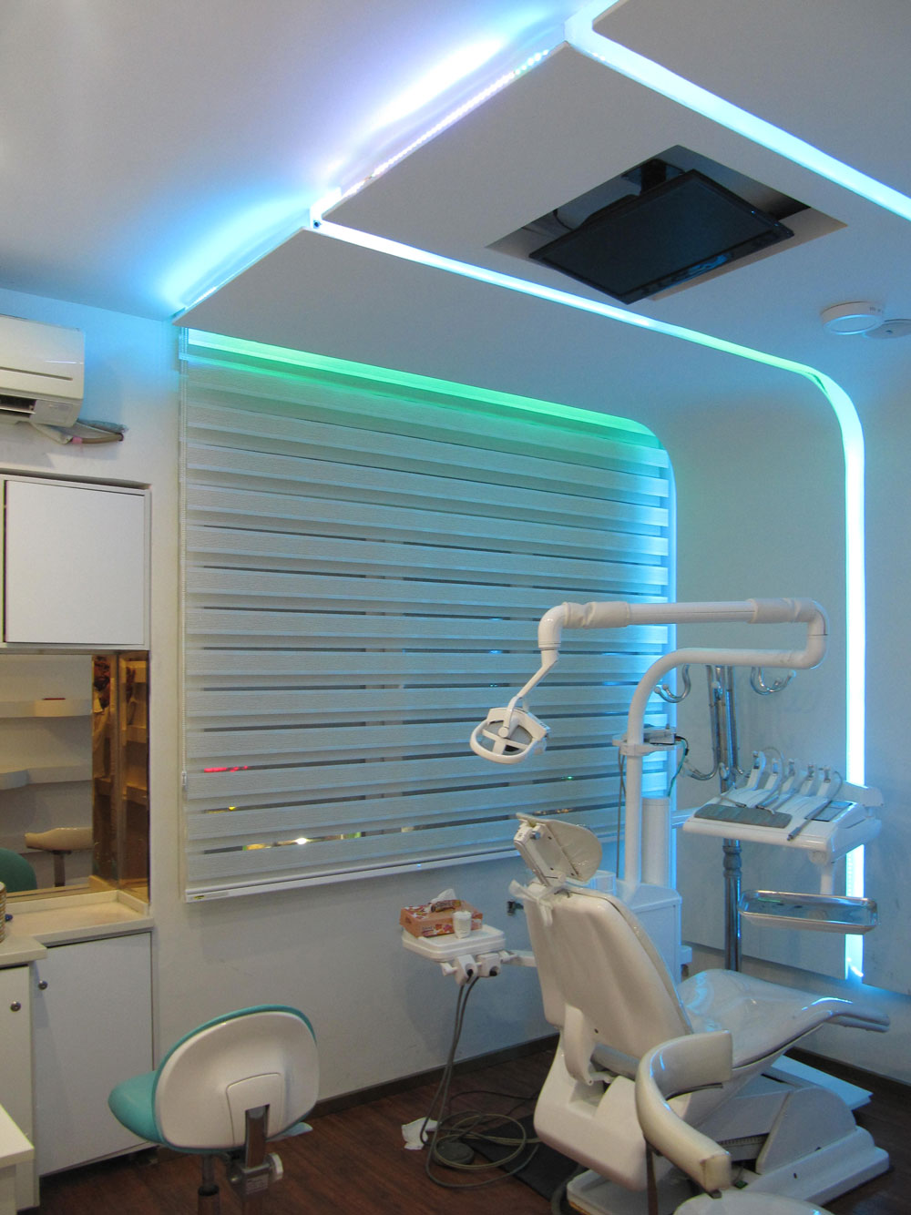 طراحی داخلی کلینیک دندانپزشکی
