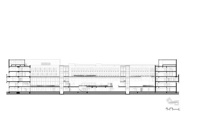 طراحی بیمارستان با فضاهای داخلی منحصر به فرد