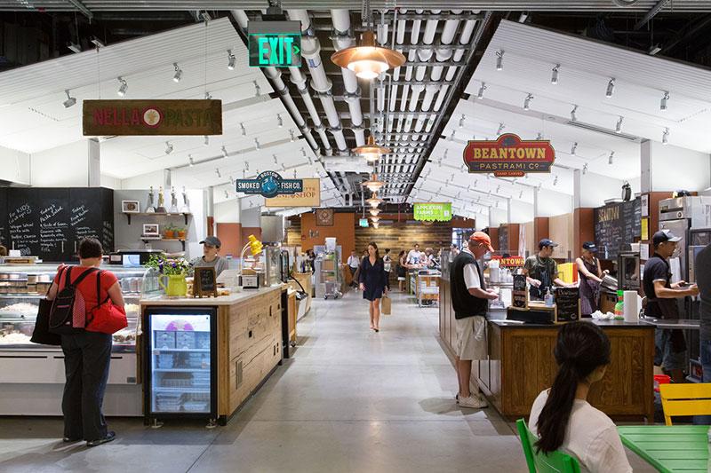 نمونه طراحی فروشگاه هایپرمارکت