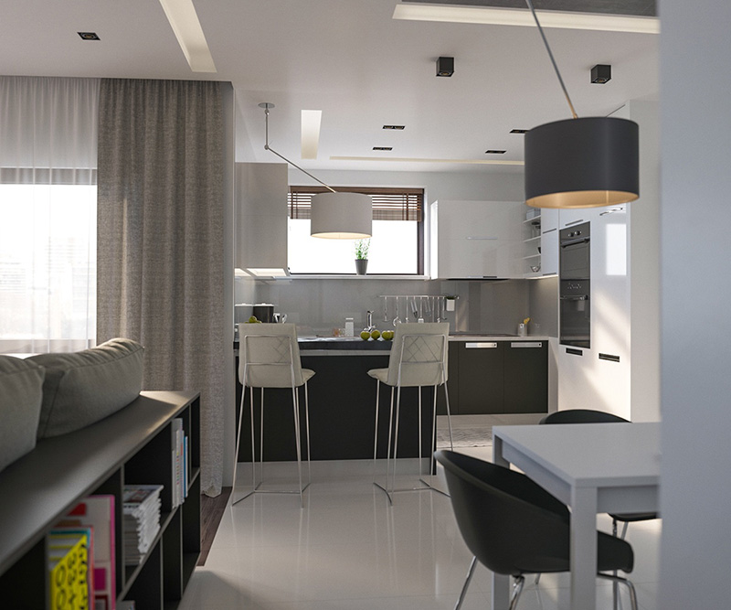 20 نمونه طراحی و دکوراسیون آشپزخانه های مدرن