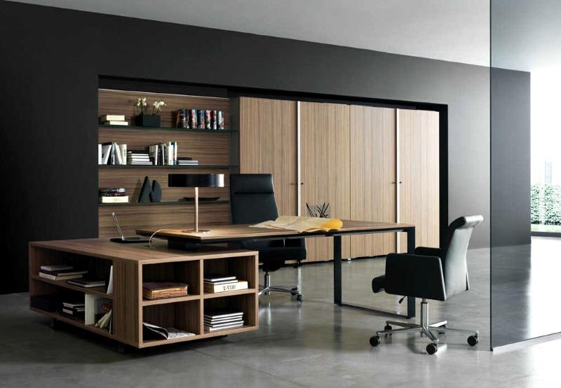 طراحی و دکوراسیون داخلی  اتاق مدیریت