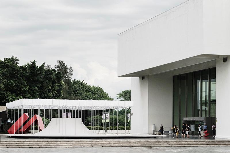 طراحی غرفه شهری پویا