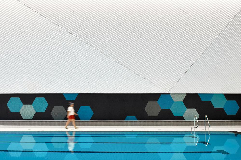 طراحی مجموعه ورزشی و استخر
