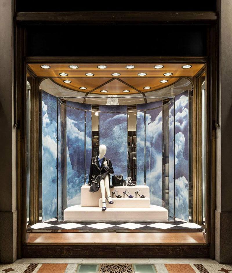 30 نمونه طراحی ویترین مغازه پوشاک آرل