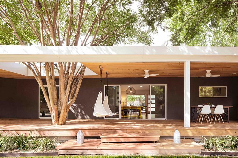 بازسازی و طراحی داخلی خانه روستایی مدرن آرل
