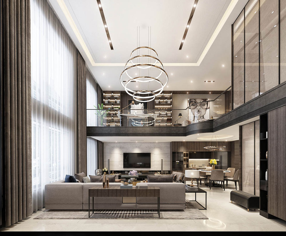 2 for Modern luxury homes interior design