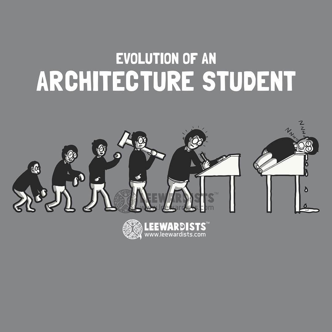 دانشجویان معماری