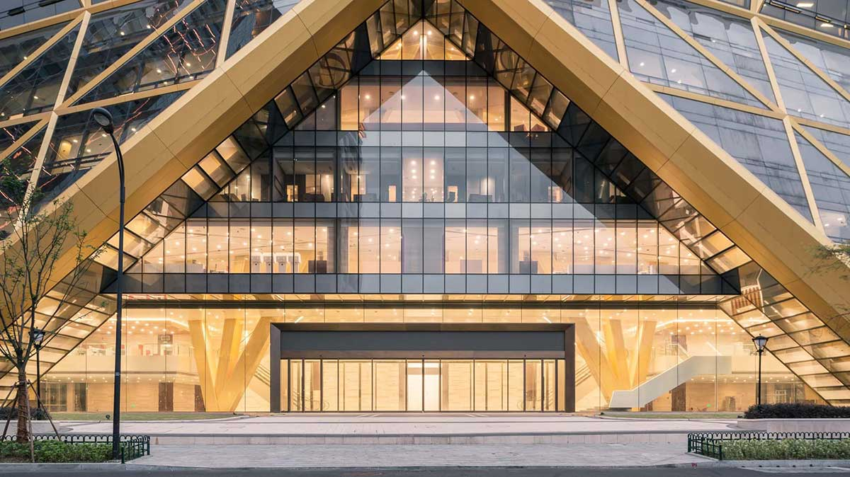 طراحی ساختمان بانک مرکزی