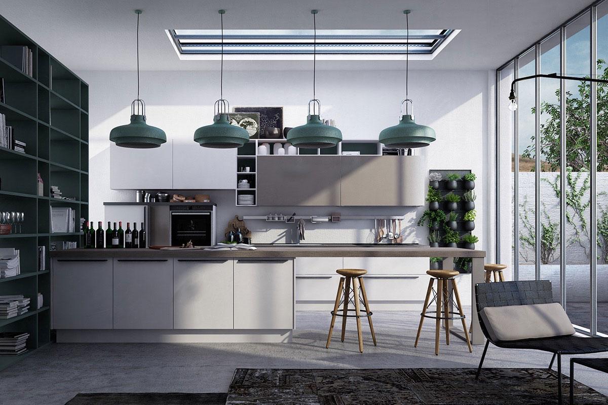 طراحی آشپزخانه جنوبی