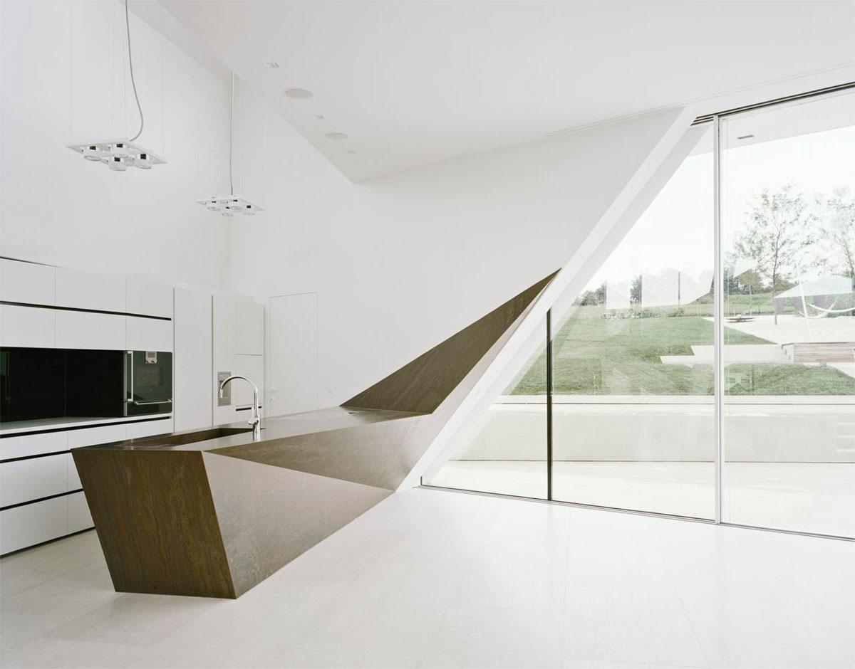 طراحی هندسی آشپزخانه