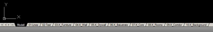 پنجرههای لایهی مختلف اتوکد را برای اکسپورت به PDF