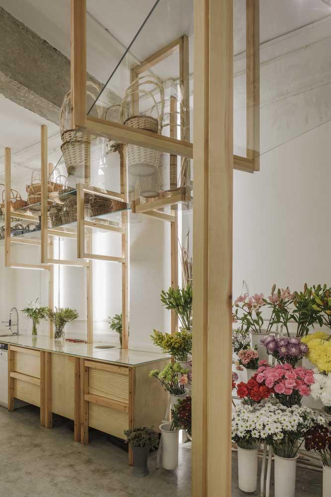 طراحی داخلی گلفروشی ارکید