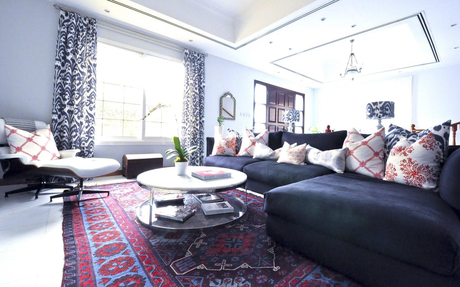 انتخاب رنگ فرش در دکوراسیون منزل