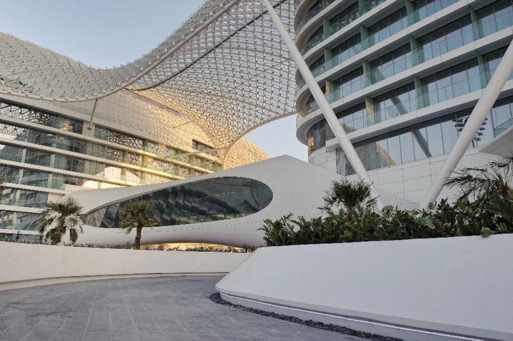 طراحی هتل 500 اتاقه یاس