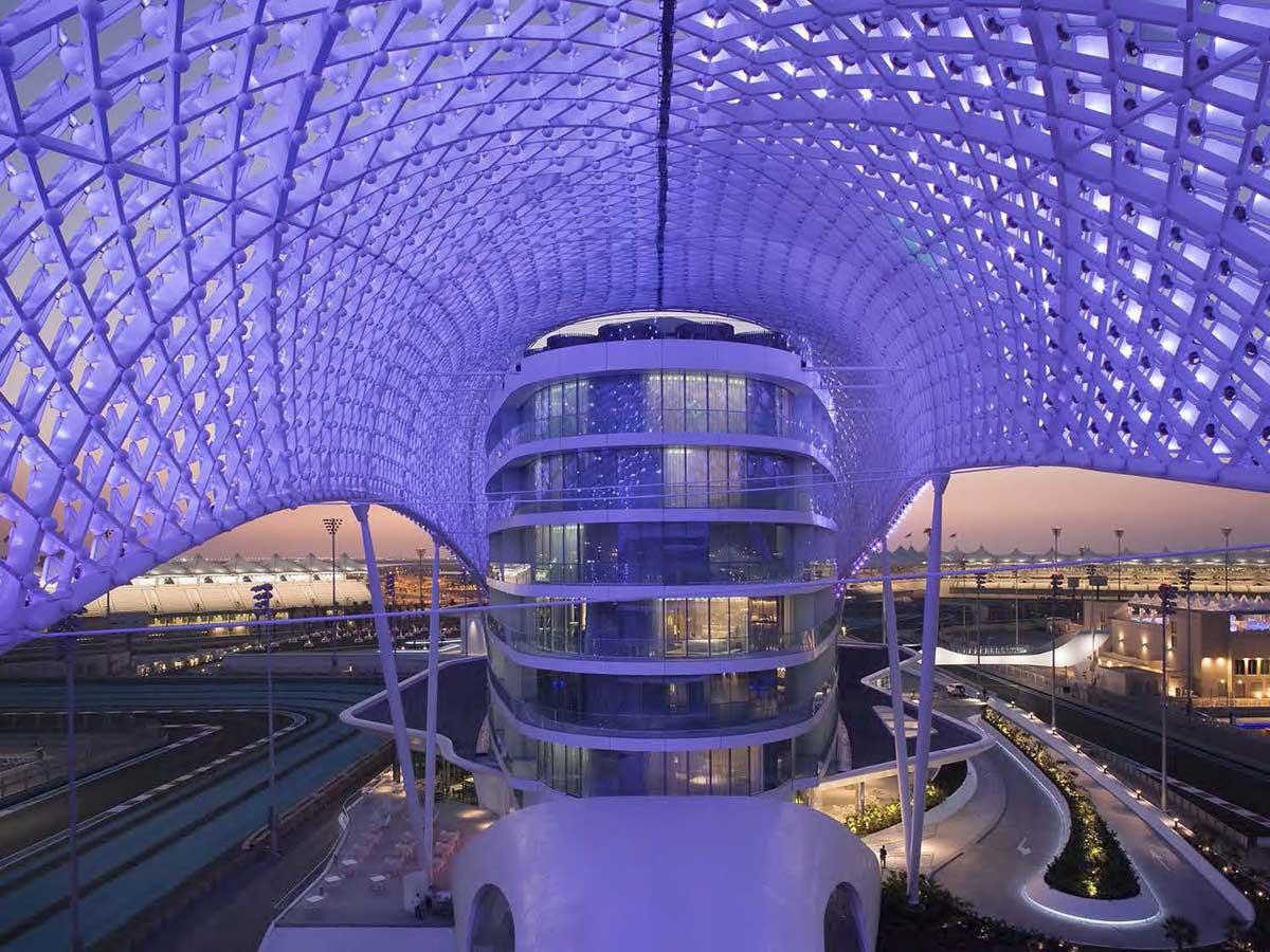 طراحی سقف پارامتریک هتل