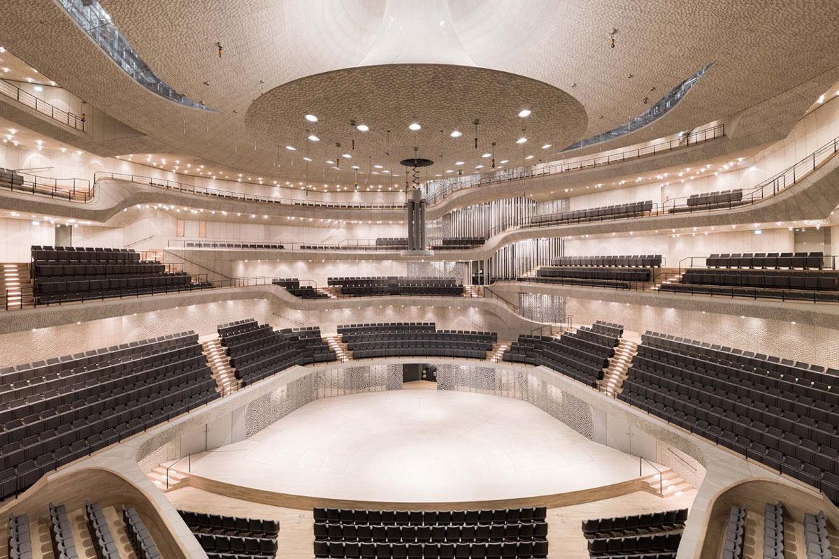 معماری پارامتریک سالن