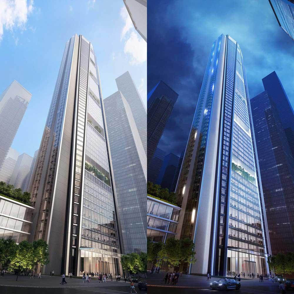طراحی برج اداری