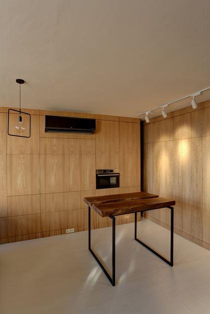 طراحی فضای کم ، طراحی آپارتمان 45 متری ، طراحی مدرن