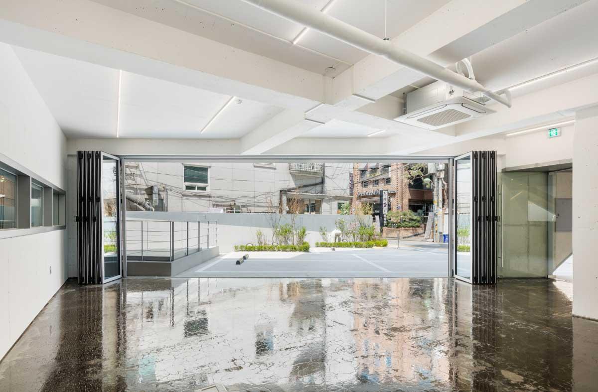 طراحی ساختمان اداری تجاری