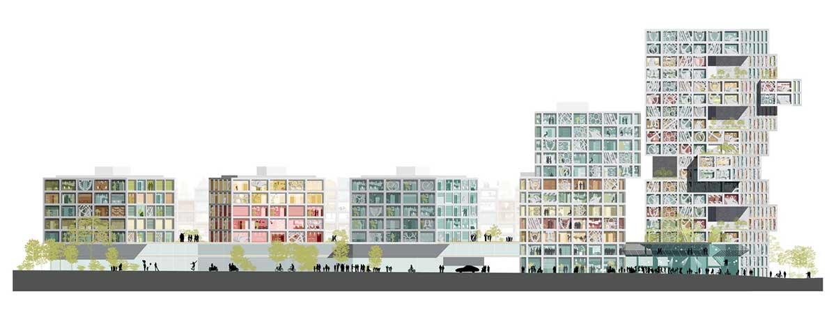 مجتمع تجاری مسکونی