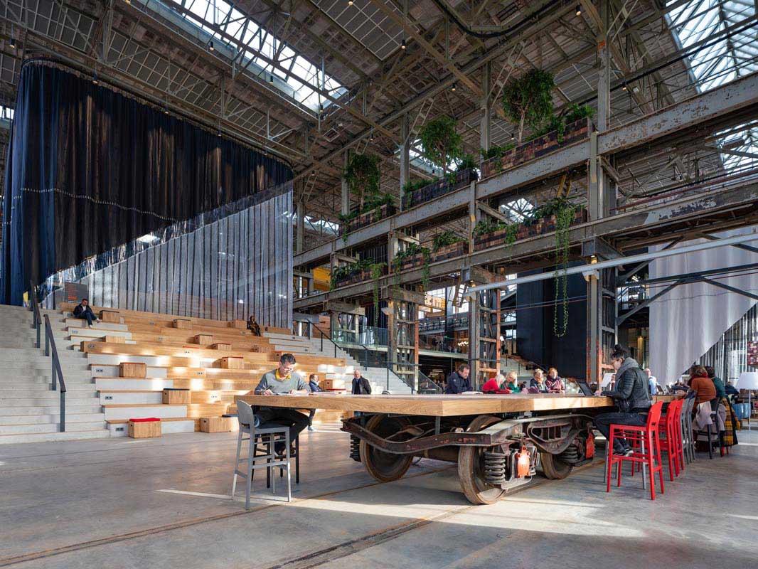 فضاهای بازیافتی در معماری