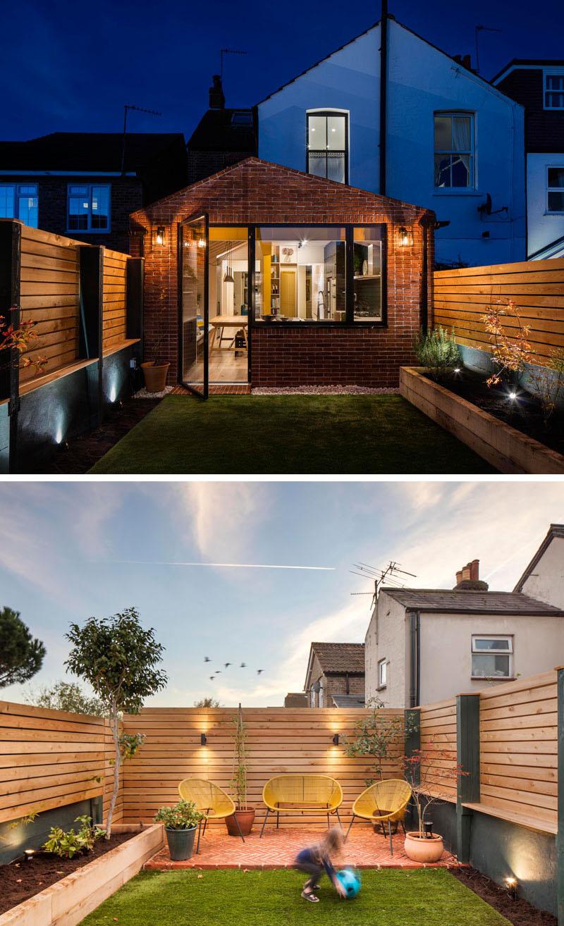 طراحی حیاط و نمای خانه