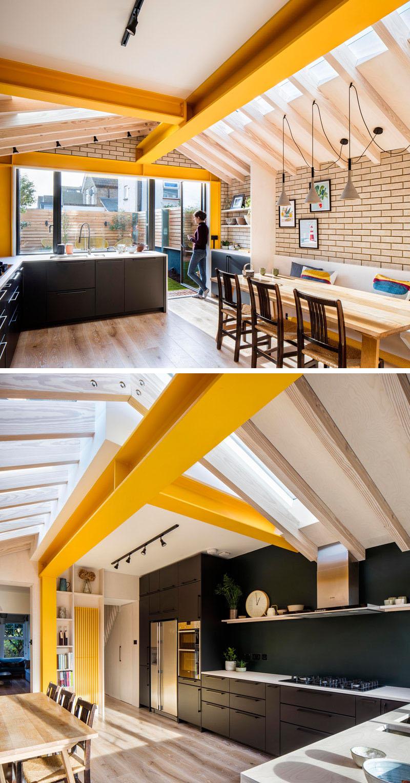 استفاده از رنگ زرد در طراحی داخلی