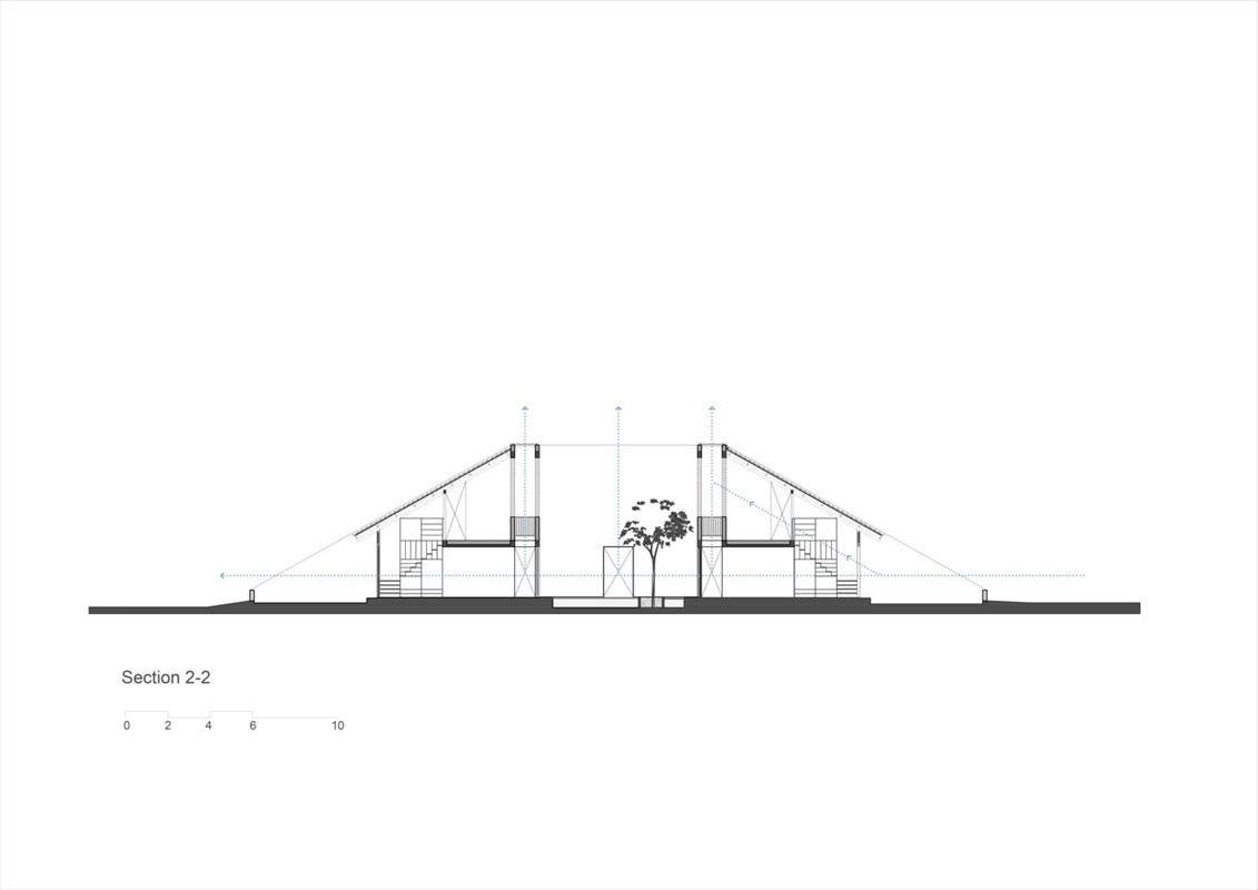 طراحی سقف دیواری آجری