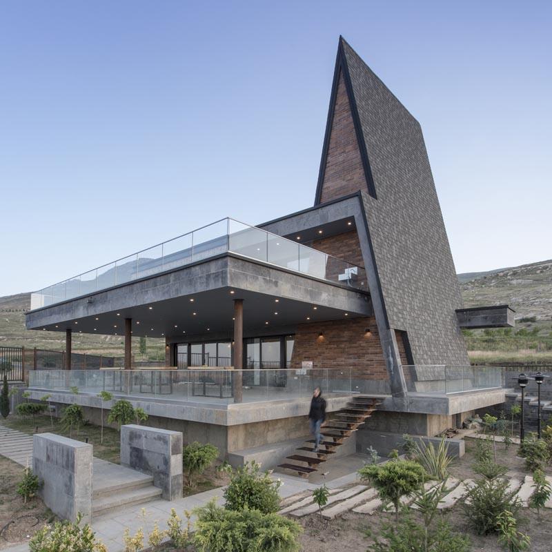 طراحی سقف شیبدار