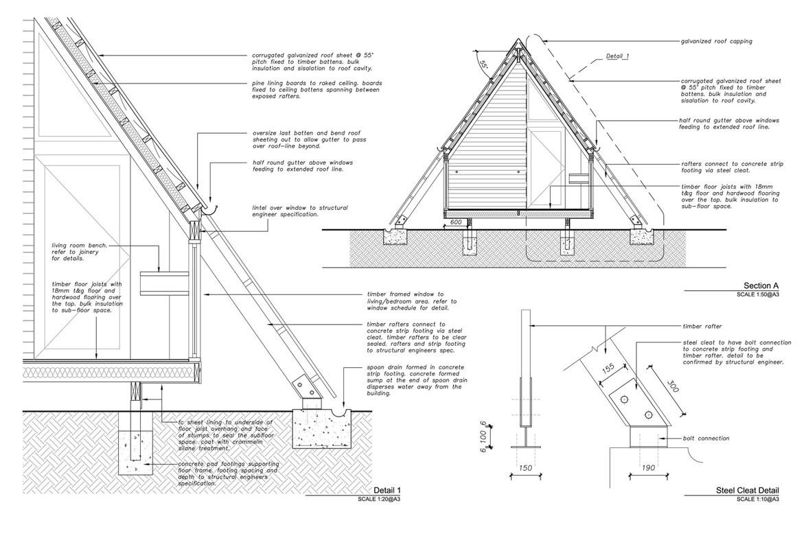 جزییات طراحی سقف