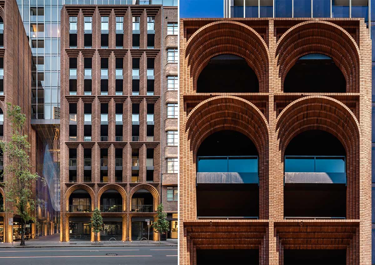 طراحی نمای برج مسکونی