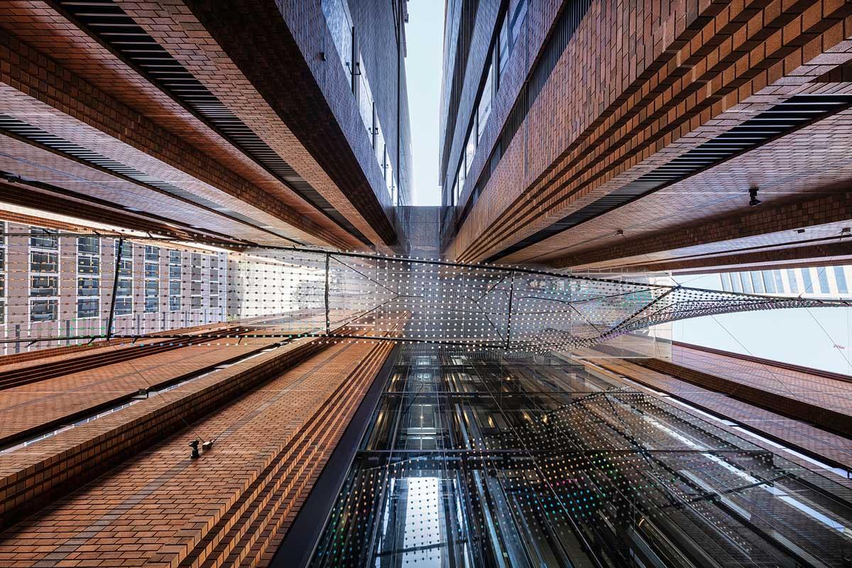 طراحی ورودی برج مسکونی