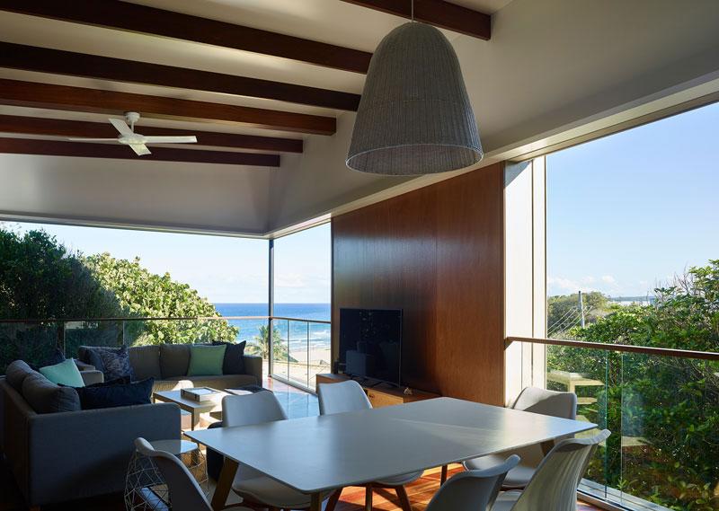 دکوراسیون خانه مدرن و ساحلی