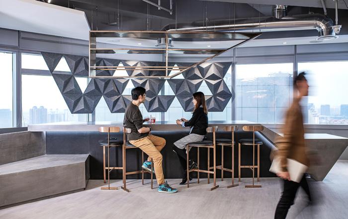 طراحی فضای استراحت کارمندان