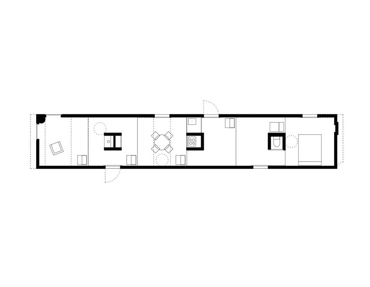 پلان خانه های زیر 100 متر