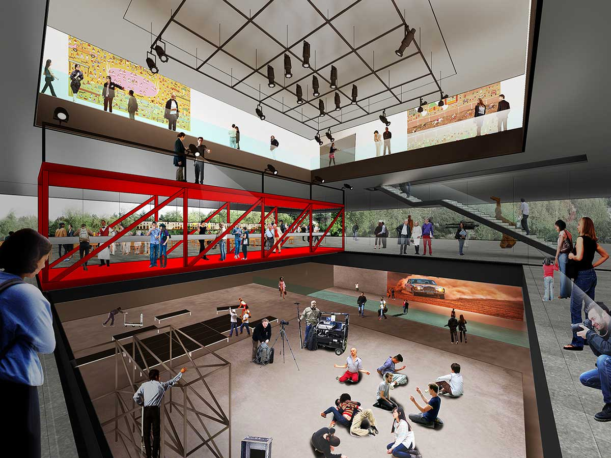 طراحی مفهومی موزه