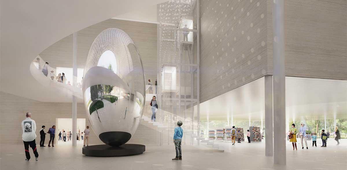 طراحی مفهومی موزه معاصر