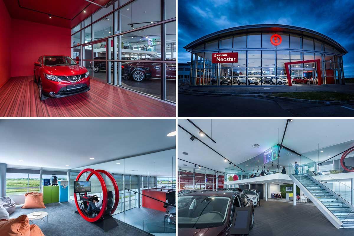 بررسی معماری طراحی نمایشگاه مولتی برند خودرو