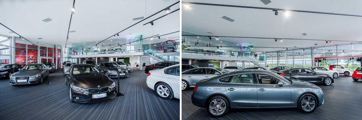 طراحی گالری خودرو