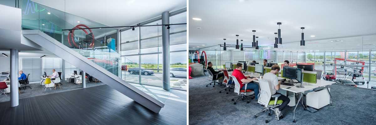 طراحی معماری نمایشگاه خودرو