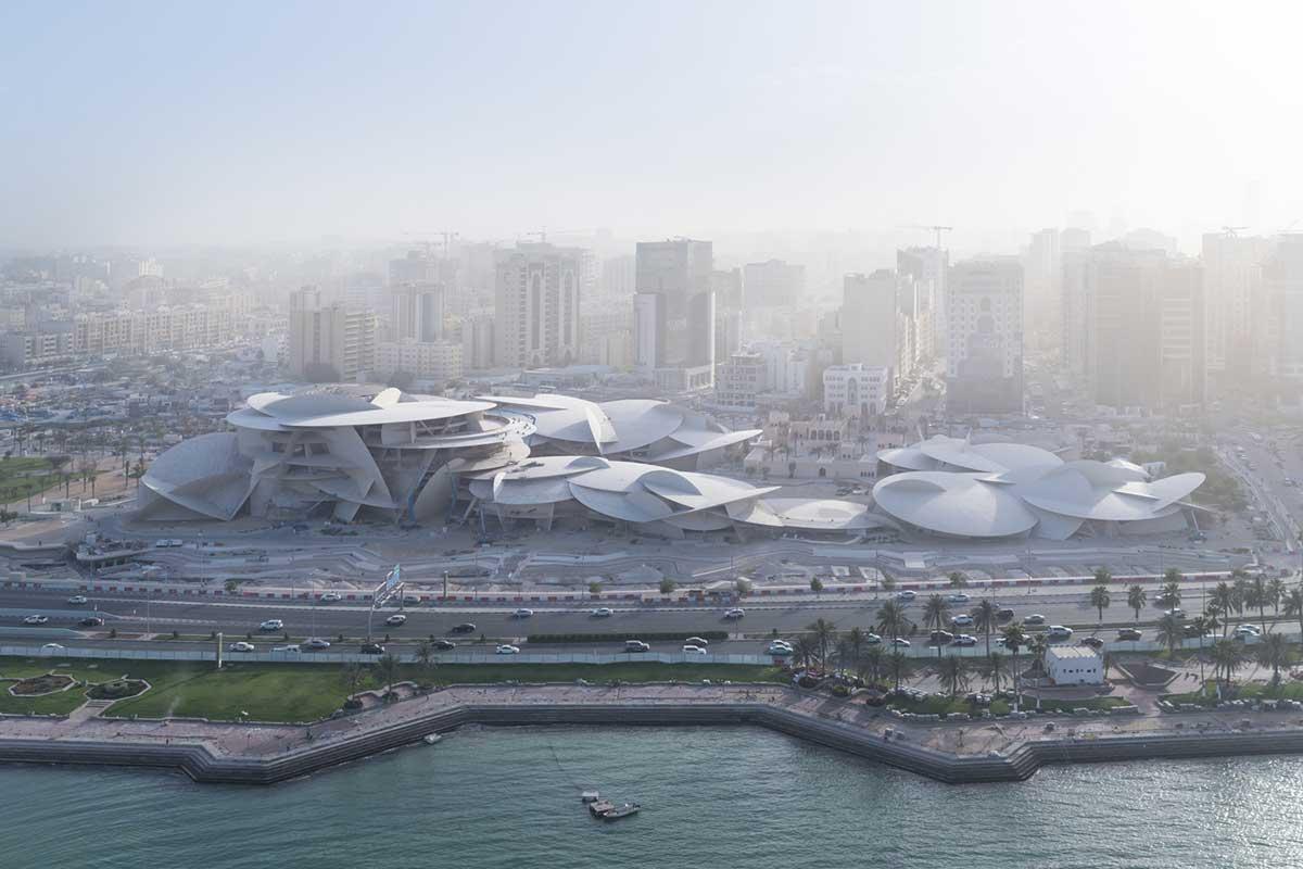 طراحی موزه معاصر ملی قطر توسط ژان نوول