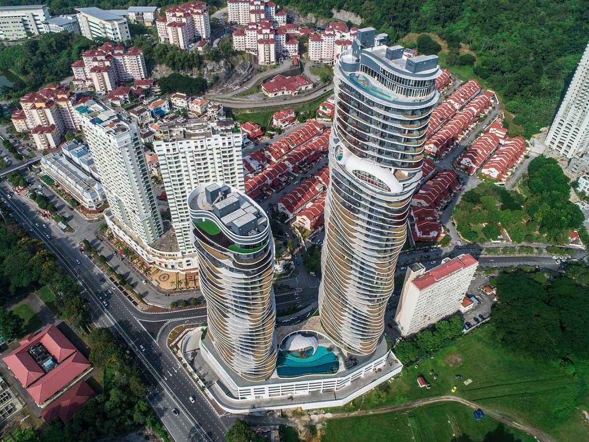 طراحی مجتمع مسکونی لوکس