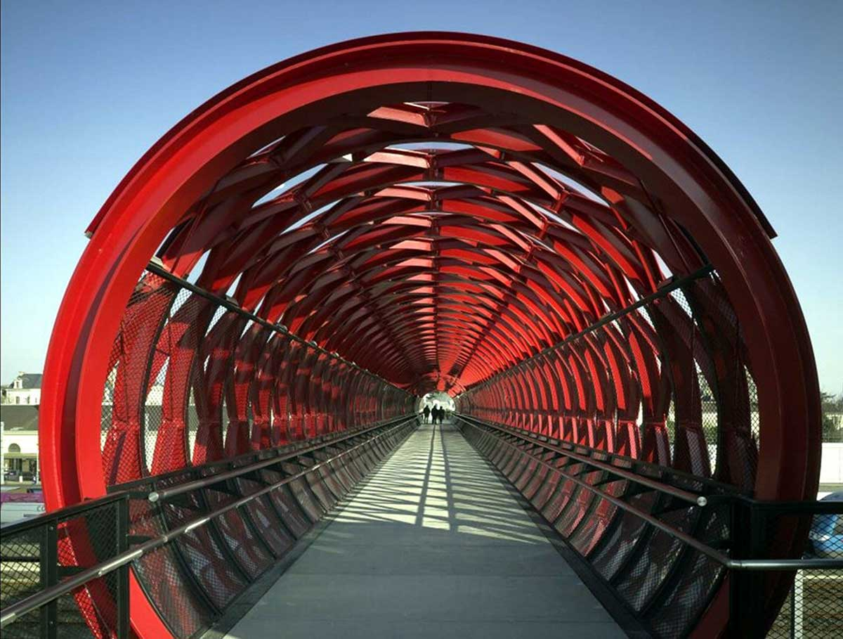 پل عابر پیاده La Roche-sur-Yon