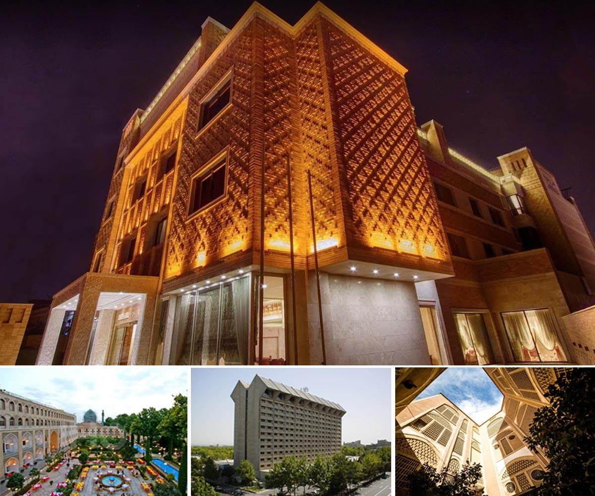 معرفی و بررسی معماری هتل های معروف ایران و جهان+تصاویر